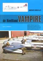 Warpaint No. 27: de Havilland Vampire
