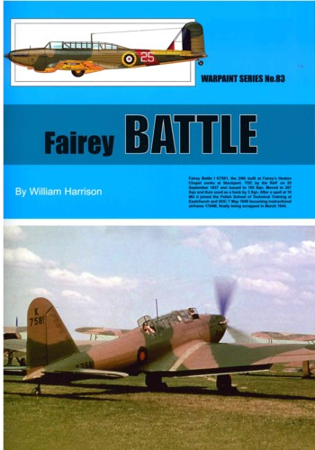 Warpaint No. 83: Fairey BATTLE